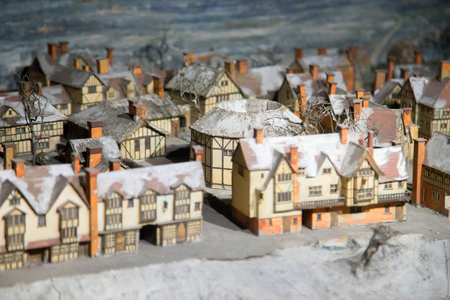 globe theatre: UK, London - 09 April 2015 : Reconstruction of London and Shakespeare Theater