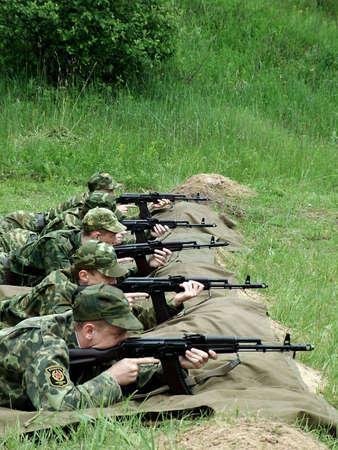 militia: fire!