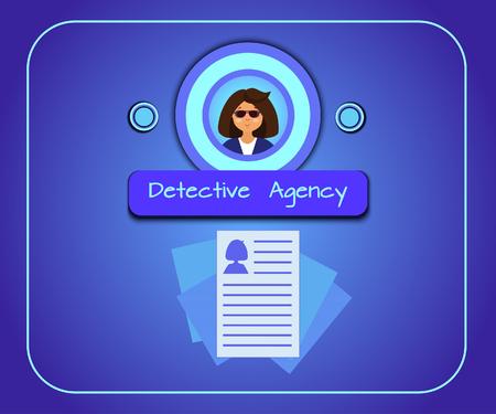 Illustration Detective Agency