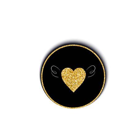 Vector illustration of a golden heart with wings Illusztráció