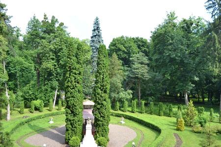chernivtsi: Park Chernivtsi National University