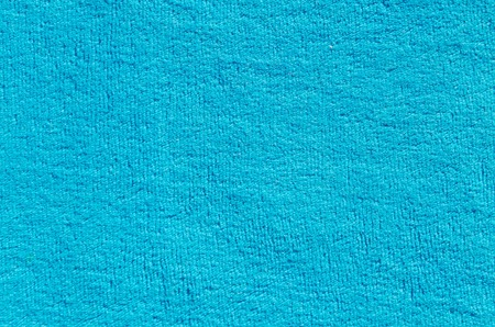 blue cloth with pile texture