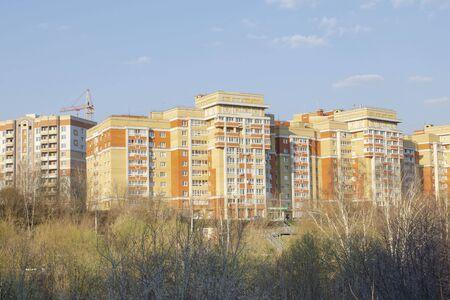 Vladimir 15 Mira Street, view of the residential complex from the bridge Sajtókép