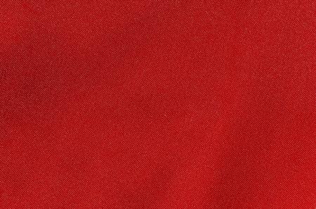 Textur aus sattem rotem Stoff
