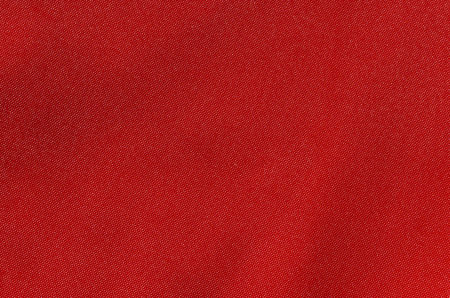 texture of rich red fabric