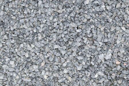 Gray granite crumb. Texture. Background.