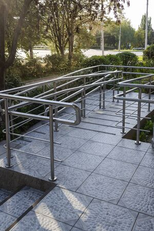 Ramp for wheelchairs and people with disabilities