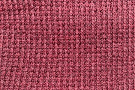 Beard, brown, wine knitted fabric. Background, texture