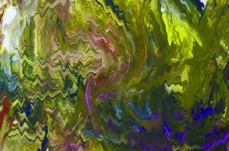 Abstract background imitation of oil paint on canvas with multi-colored paints
