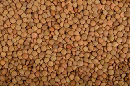 Background, texture from cereals of red lentils 版權商用圖片