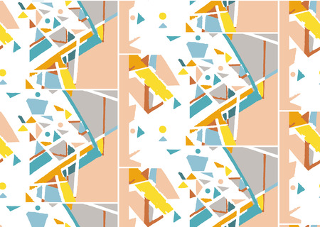 Seamless pattern with graphic element