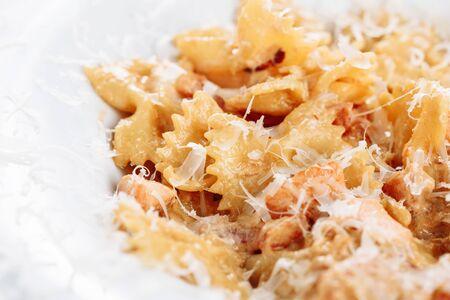 Creamy Pesto Farfalle Pasta Healthy Italian Food