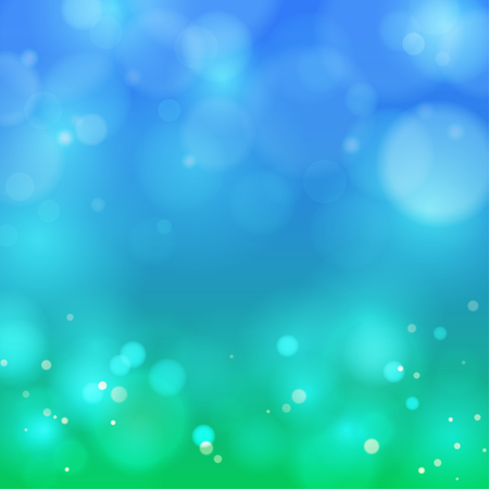 Vector abstract background with the image of bokeh. Illustration