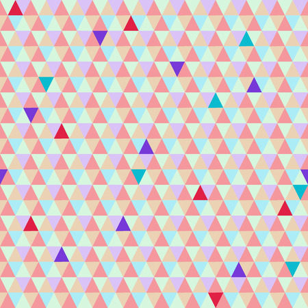 Abstract geometric twinkling background for your projects. Seamless pattern Illustration
