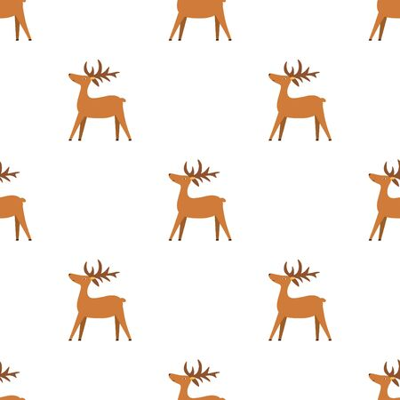 Winter festive pattern for textiles, printing, packaging materials Illustration