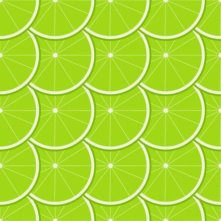 lemony: Lime Seamless Pattern. Illustration