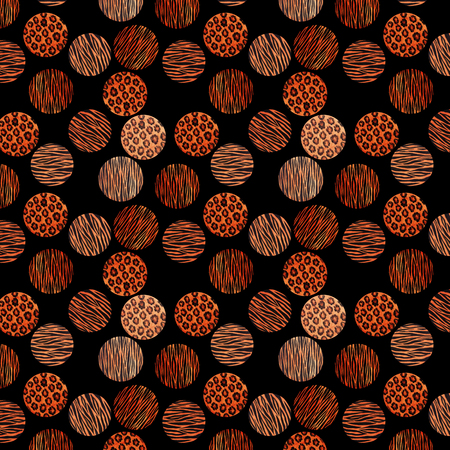 Abstract raster tiger texture background for textile and digital print design. Seamless pattern. 写真素材