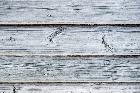 The original wooden background of thin old boards. Texture. Brown textured boards, located .horizontal