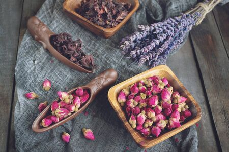 Rosebud tea . Rose Bud tea is made from real rose buds plucked when they are young and then dried.