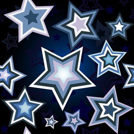 Seamless wallpaper with star pattern 일러스트