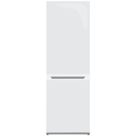 fridge: fridge white illustration Illustration