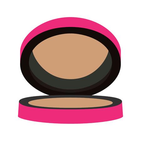 blush: blush bronze purple vector illustration Illustration
