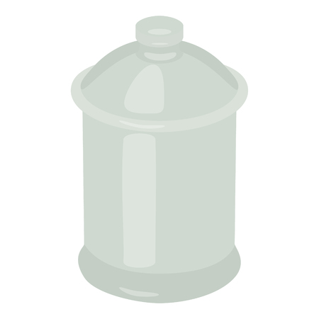 potter: sugar pot vector illustration white Illustration