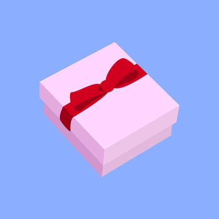 ring box vector illustration Ilustração