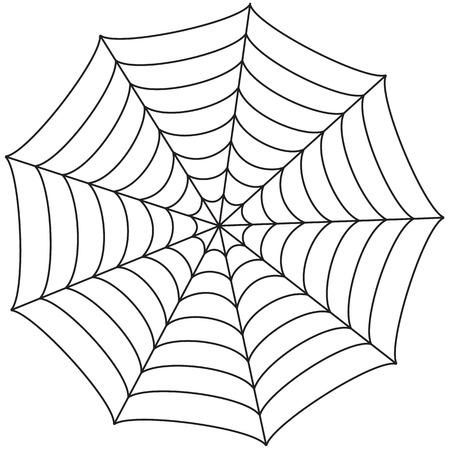 Araignée icône web pour Halloween. Vector illustration Vecteurs