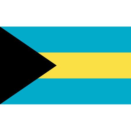National Bahamian flag.