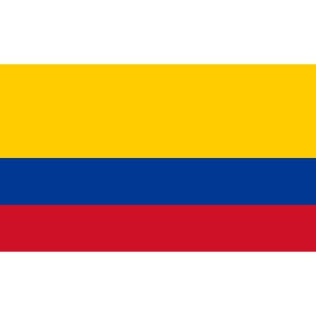 국가 콜롬비아 플래그입니다. 일러스트