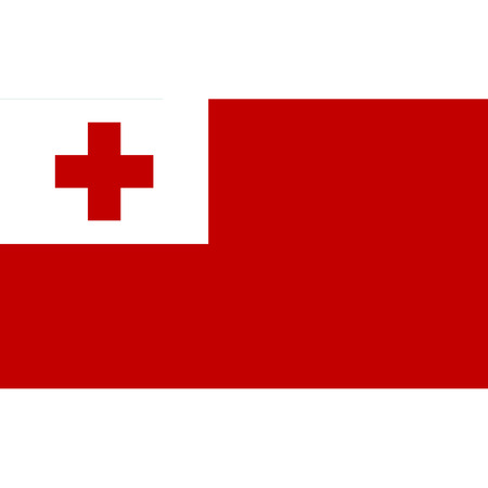 National Tonga flag.