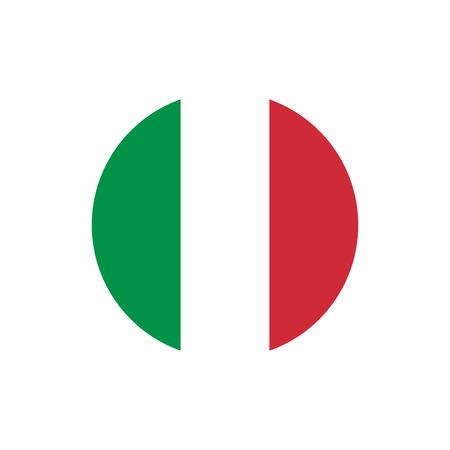 Italien Flagge, offizielle Farben und Proportionen richtig. Italienische Nationalflagge Vektor-illustration Vektorgrafik