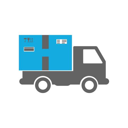 Vector illustration of Delivery truck