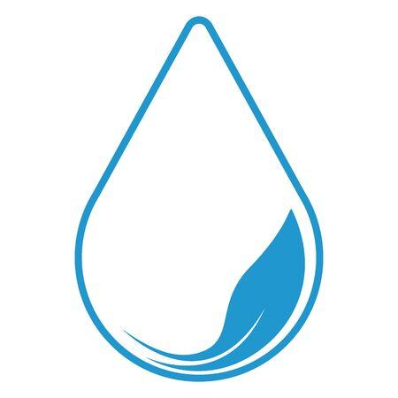 Water drop, icon. Eco concept. Archivio Fotografico - 125077541