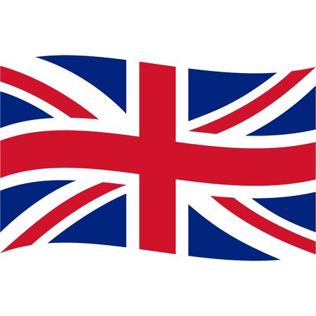 United Kingdom of Great Britain and Northern Ireland. National flag, icon.
