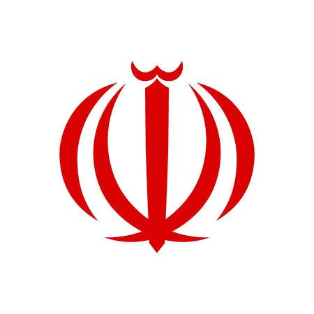 Emblem of Iran. Abstract concept, icon. Vector illustration on white background.