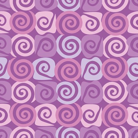 Abstract seamless background, wallpaper with pattern of spirals Stock Vector - 18655904