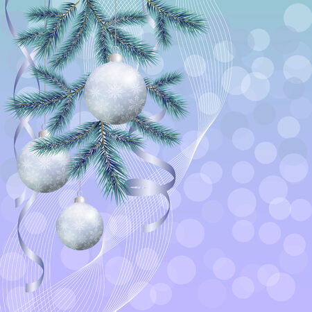 tree toys: Background for Christmas holiday design