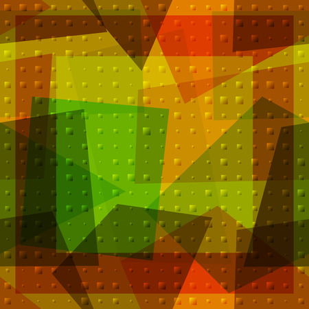transparencies: Seamless Background with Abstract Colorful Geometric Pattern. Contains Transparencies. Vector