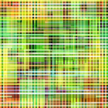 Seamless Background with Abstract Colorful Geometric Pattern. Contains Transparencies. Vector