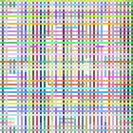 perpendicular: Seamless Background with Abstract Colorful Geometric Pattern.  Contains Transparencies. Vector