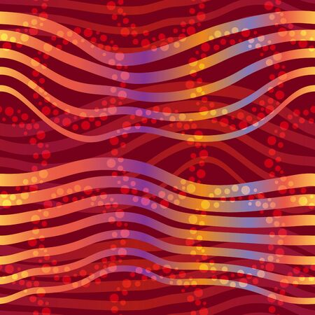 Seamless abstract tile striped pattern Illustration
