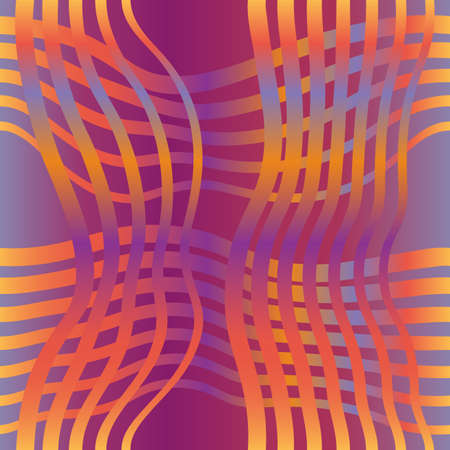 Seamless Abstract Background, Tile Striped Pattern. Vector