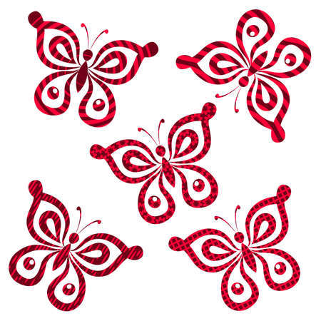 Butterflies with Pattern