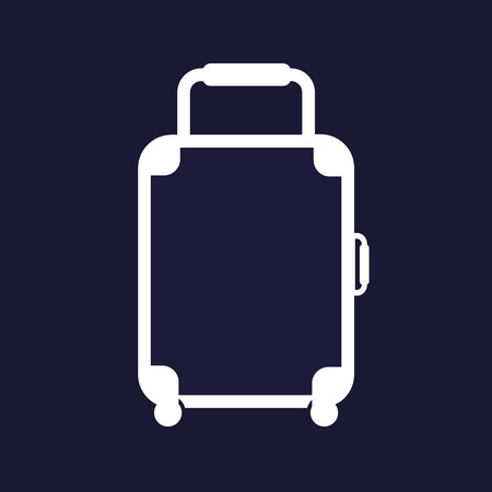 case: Vector baggage icon. luggage illustration. Illustration