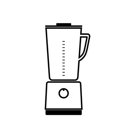 Kitchen stationary blender icon.