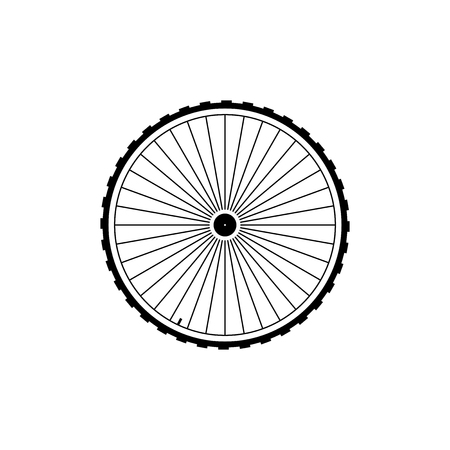 one wheel bike: Wheel icon