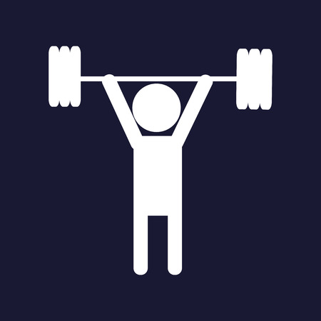 Weightlifter icon