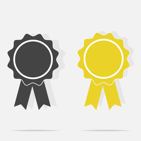 Vector icon medal. Medal of Honor, congratulations. Illustration